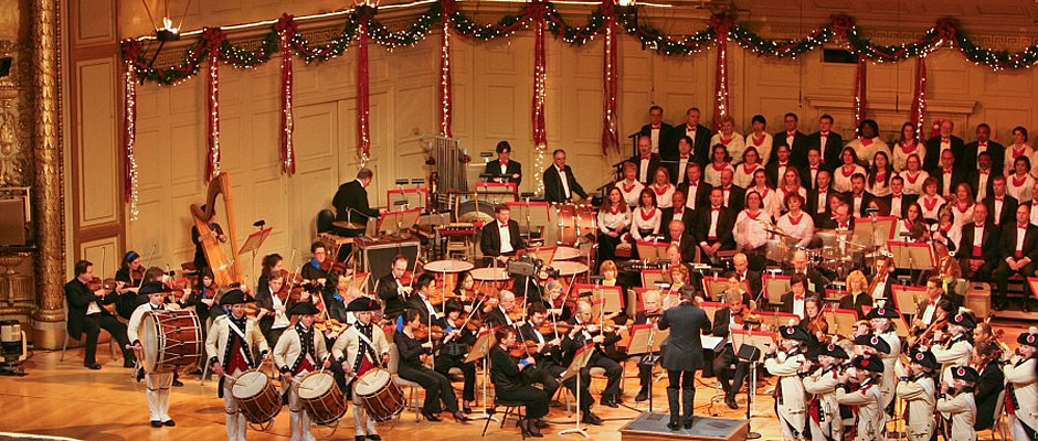 Performing with the Boston Pops Orchestra